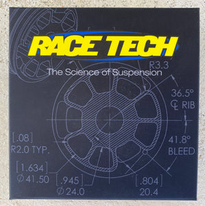 RACE TECH X-PLOR FORK CONVERSION KIT GOLD VALVE KIT