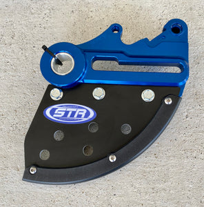 SYSTEM TECH RACING ULTRA LIGHT REAR DISK GUARD - STR