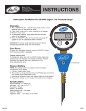 Load image into Gallery viewer, Motion Pro Professional Tire Pressure Gauge