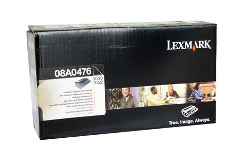 Lexmark 08A0476 Genuine Black Laser Toner Cartridge