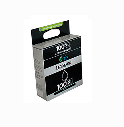 Lexmark #100XL Genuine Black High Yield Ink Cartridge
