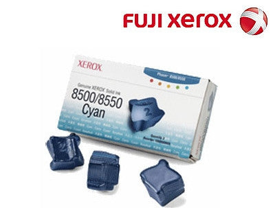 Xerox 108R00898 Genuine 3 Pack Cyan Ink Sticks