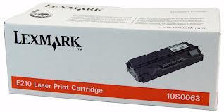 Lexmark 10S0063 Genuine Black Laser Toner Cartridge
