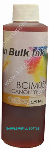 HP CB325WA, #564XL Yellow Dye Bulk Ink for Refilling Cartridges-125ml