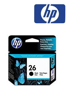 HP 51626 (HP26) Genuine Black Ink Cartridge