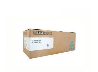 Ricoh 406060 (Lanier 406098) cyan  Toner Cartridge - 2,000 page yield