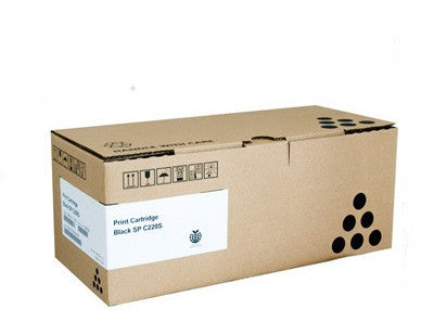 Lanier 406095 black  Toner Cartridge - 2,000 page yield