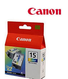 Canon Original BCI-15CT Colour Ink Cartridge Twin Pack I70/I80