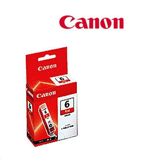 Canon Original BCI-6 Red Ink Tank