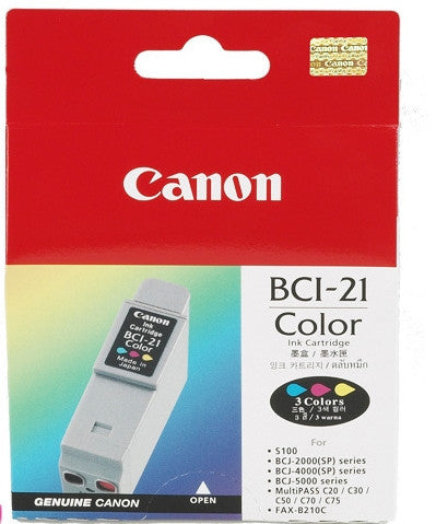 Canon Original BCI-21C Colour Ink Tank