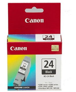 Canon BCI24BK  genuine printer cartridge