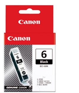 Canon Original BCI-6BK Black Ink Tank