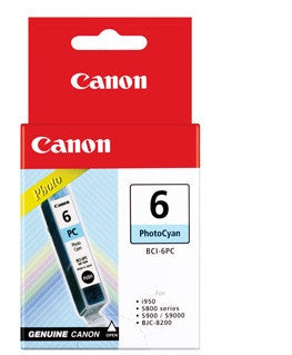 Canon Original BCI-6PC Photo Cyan Ink Tank