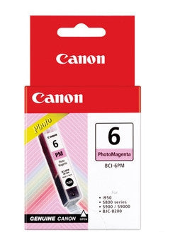 Canon Original BCI-6PM Photo Magenta Ink Tank