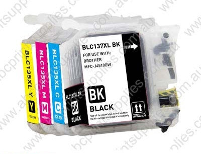 Brother LC133 BCMY (4) Bundle of inkjet cartridges compatible