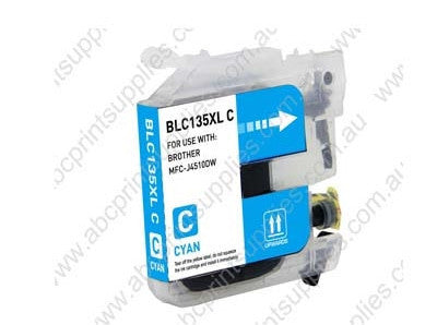 Brother LC133C cyan inkjet cartridge compatible