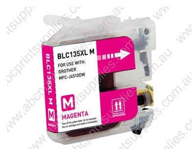 Brother LC135XLM Magenta H/Y inkjet cartridge compatible