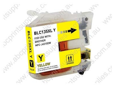Brother LC133Y yellow inkjet cartridge compatible