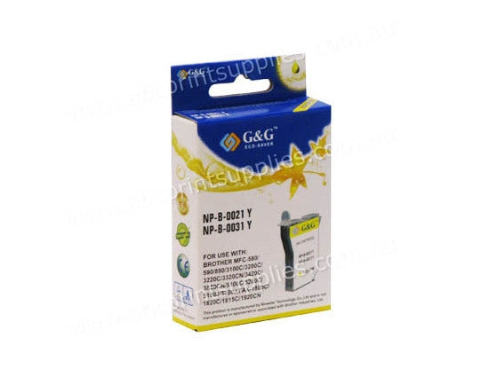 Brother LC21Y / LC31Y  Yellow  Ink Cartridge Compatible