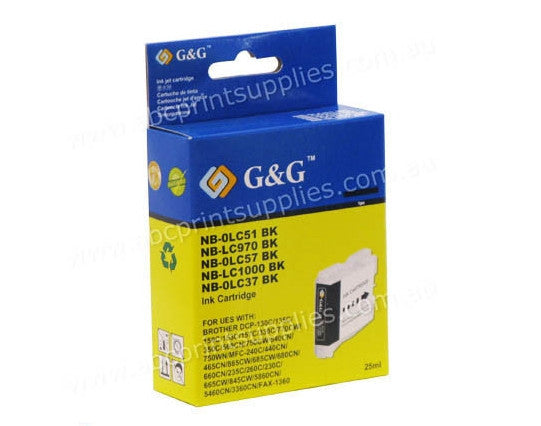 Brother LC37  compatible ink cartridge for DCP135C,  DCP150C,  MF260C,  MFC235 printers from Brother