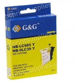 Brother LC39Y printer cartridge