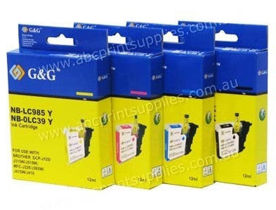Brother LC39X High Yield) Printer Cartridges Compatible