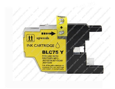 Brother LC40Y  Yellow Ink Cartridge Compatible