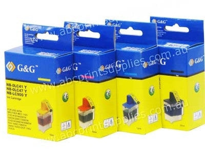 Brother LC41/47 Bundle compatible ink cartridges