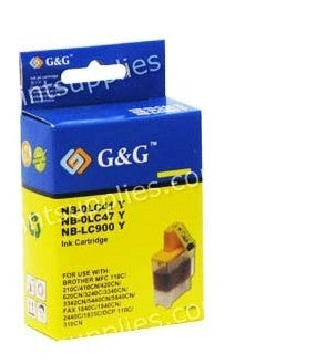 Brother LC41Y/LC47Y Yellow Ink Cartridge Compatible