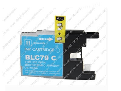 Brother LC77C  Cyan Ink Cartridge Compatible