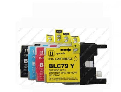 Brother LC77 BCMY bundle compatible inkjet cartridges