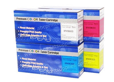 Brother TN155BK, TN155C, TN155M, TN155Y toner cartridge bundle