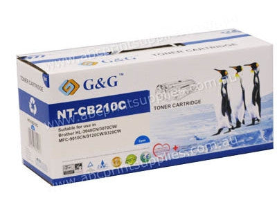Brother TN240C compatible cyan toner cartridge