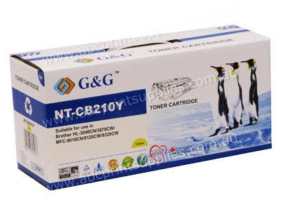 Brother TN240Y Compatible Yellow Toner Cartridge