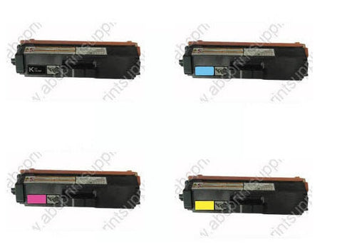 Brother TN340BK  BCMY Bundle Cartridges Compatible
