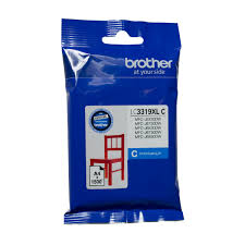 Brother LC-3319XLC  Genuine Cyan High Yield Ink Cartridge