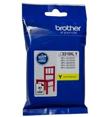 Brother LC-3319XLY Genuine Yellow High Yield Ink Cartridge