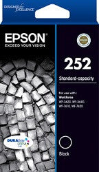 Epson WF-3640 Black (C13T252192) Genuine Ink Cartridge
