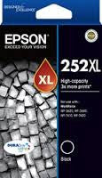 Epson 252XL Black High Yield (C13T253192) Genuine Ink Cartridge