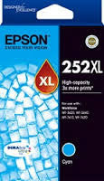 Epson 252XL Cyan high yield  (C13T253292) Genuine Ink Cartridge