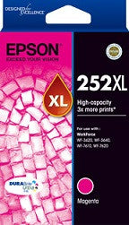 Epson 252XL Magenta High Yield  (C13T253392) Genuine Ink Cartridge