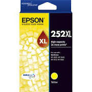 Epson 252XL Yellow High Yield (C13T253492) Genuine Ink Cartridge