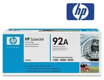 HP C4092A, HP 92A genuine cartridge