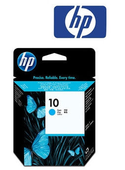 HP C4801A (HP 10) Genuine Cyan Inkjet Cartridge