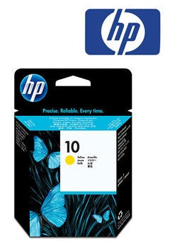 HP C4803A (HP 10) Genuine Yellow Inkjet Cartridge
