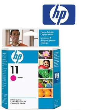 HP C4837A  (HP11)  Genuine Magenta Wide Format Ink Cartridge