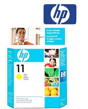 HP C4838A (HP11) Genuine Yellow Wide Format Ink Cartridge
