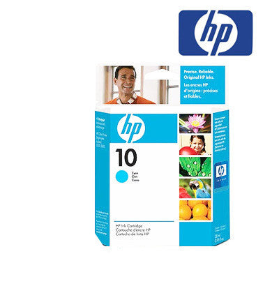 HP  C4841A (HP10) Genuine Cyan Wide Format Ink Cartridge