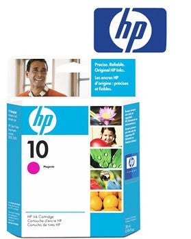 HP C4843A Genuine Magenta  Inkjet Cartridge - 28ml