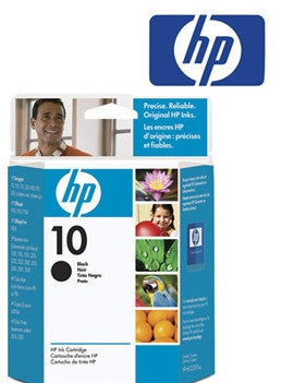 HP C4844A Genuine Black  Inkjet Cartridge - 28ml